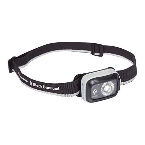 Black Diamond Sprint 225 HEADLAMP Mixte Adulte, Noir (Aluminum), Taille Unique
