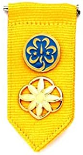 Girl Scouts Daisy Insignia Tab- Gold