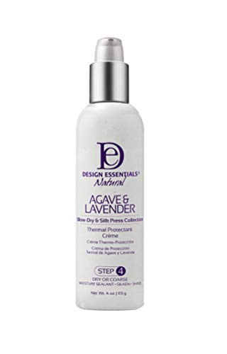 Design Essentials Natural Agave & Lavender Thermal Protectant Creme 4 Ounce