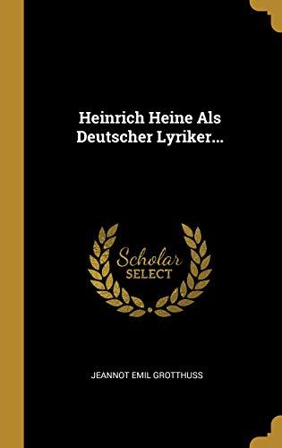 GER-HEINRICH HEINE ALS DEUTSCH