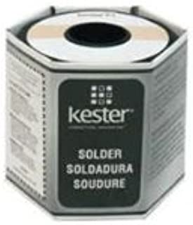 Kester 44 Lead Solder Wire - +682 F Melting Point - 0.025 in Wire Diameter - Sn/Pb Compound - 37 % Lead - 24-6337-0018 [PRICE is per POUND]
