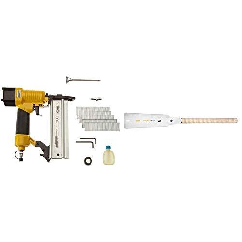 Brüder Mannesmann Werkzeuge M15350 - Clavadora para acabados [Importado de Alemania] + Augusta Ryoba 44021 240 AMA - Sierra japonesa