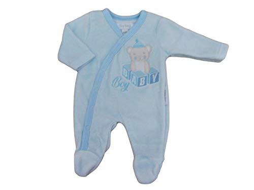 BNWT Baby-Schlafanzug für Frühchen (2,3 - 3,6 kg) Gr. 2.26/3.63 kg, blau