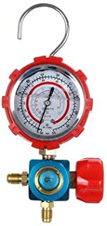 CCChaRLes R410 * R22 * R12 * R134 Dispositif Réfrigérant De Manomètre Numérique De Haute Précision - rouge