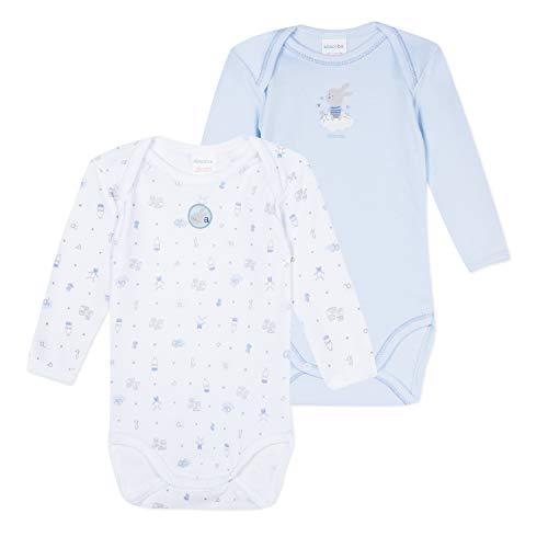 Absorba 6n60066-ra40body Body Azul (Cornflower 40) 0-6 Meses (Talla del Fabricante: 6M) para Bebés