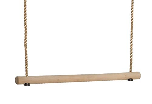 Gartenwelt Riegelsberger Lot de 2 trapèze trapèze multifonctions en bois dur à suspendre pour enfant