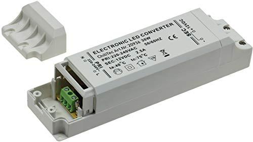 Preisvergleich Produktbild LED-Trafo 12V (12V Netzteil / IP 20 Innenbereich,  30Watt)