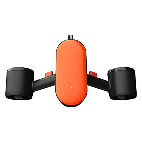 QNMB Scooter Submarino, Drone Submarino con Cámara, Motores Duales, Profundidad Máxima De 100 Pies 45 Minutos, 4 Millas por Hora De Buceo Deportivo De Agua, Adecuado para Niños Y Adultos