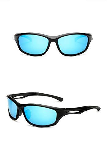 Thematys zonnebril voor heren en dames gepolariseerd, UV400 sportzonnebril, perfect geschikt voor fietsen, motorfietsen, vissen, joggen en sporten, in het algemeen