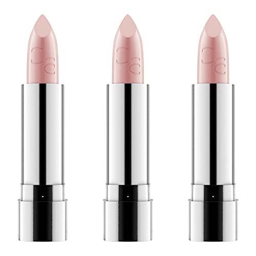 Catrice Volumizing Lip Balm, Lipstick, Lippenstift, Nr. 010 Beauty-Full Lips, pink, pflegend, vegan, ohne Alkohol, ohne Parabene, 3er Pack (3 x 3,5g)