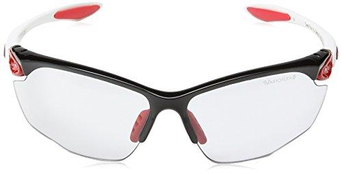 Alpina Unisex Sportbrille Twist Four VL+, black/red/white, A8434137 - 2
