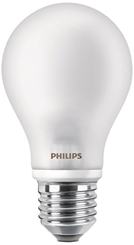 Philips Lighting Standard LED-Glühbirne Licht Kaltweiß E27, 4.5 W