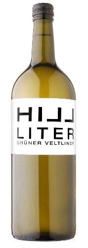 6 Flaschen Hillinger Grüner Veltliner 1 Liter tr. Leo Hillinger im Vorteilspack, trockener Weisswein aus dem Burgenland