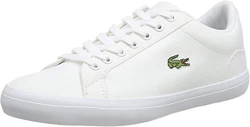 Lacoste Herren Lerond Bl 2 Trainer Low-Top Sneaker, Weiß (Wht), 41 EU