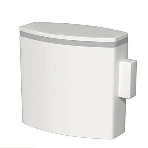 Buy Trash Can with Lid Intelligent Automatic Induction Rectangle Narrow Toilet Paper Basket,11L (Col...