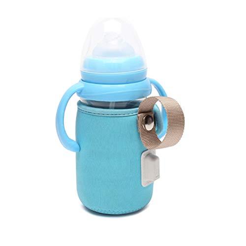 Sarplle Babyflaschenwärmer Tasche USB Flaschenwärmer Babykostwärmer mit Warmhaltefunktion für Fläschchen und Gläschen