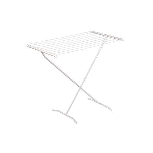 Honey-Can-Do DRY-01227 X-Frame Metal Folding Drying Rack, White