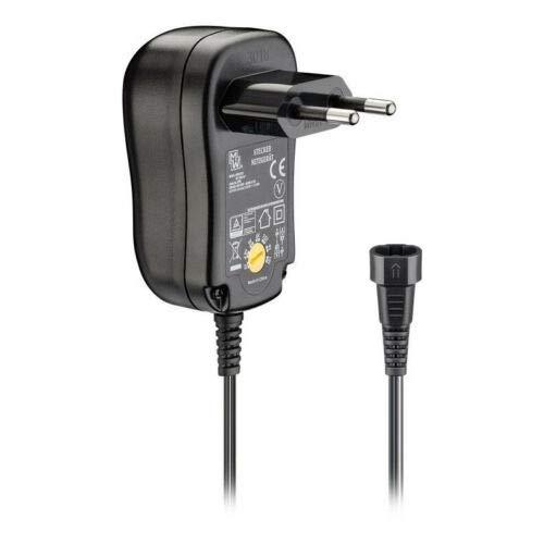 Universal Netzteil | 1000mA | 3V - 12V Drehschalter | inkl. 8 DC-Adapter | EcoFriendly max 12W | 3V 4,5V 5V 6V 7,5V 9V 12V AC/DC | Schaltnetzteil energiesparend umweltfreundlich | Schwarz | 1A