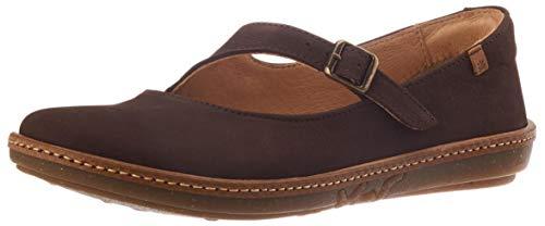 El Naturalista Coral, Zapatos Planos Mary Jane Mujer, Brown, 40 EU