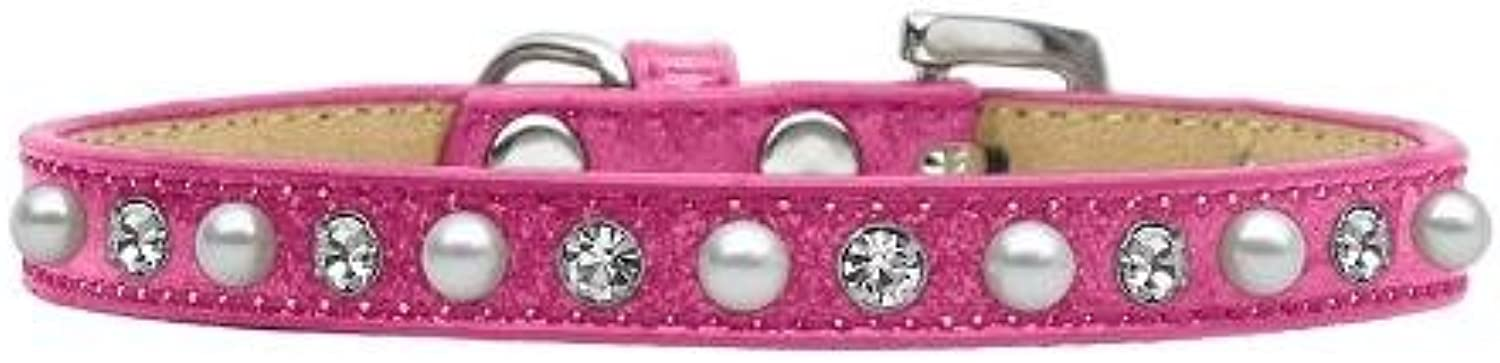 Dog   Cat   Pet Charms Pearl and Jewel Ice Cream Collars Pink 14