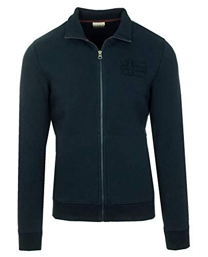 Napapijri Bechet N0YIB8176 Herren Men Sweatshirt Sweatjacke Blu Marine Dunkelblau (S)