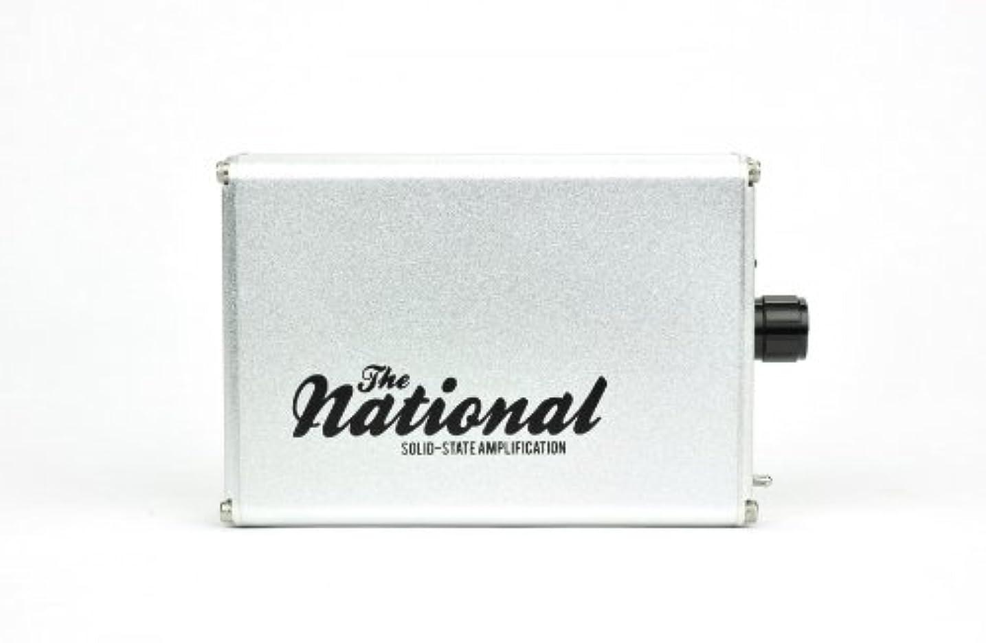 蓮差別化する量でALO audio The National Amp シルバー ポータブルヘッドホンアンプ ALO-1375