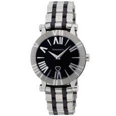 Tiffany Z1301.11.11A10A00A ティファニーAtlas レディース腕時計 ブラック×シルバー [並行輸入品]