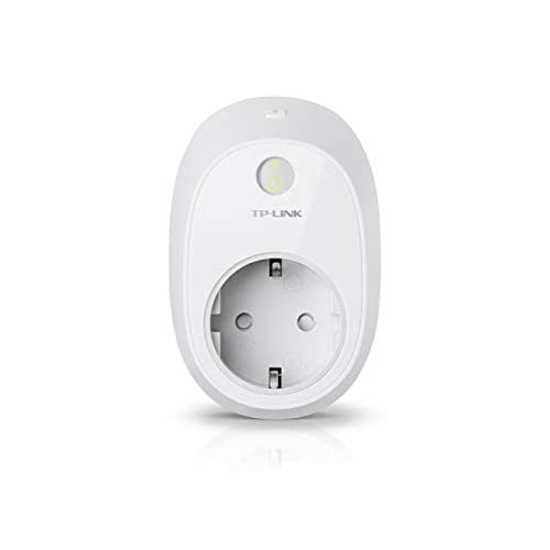 TP-Link Presa Wi-Fi con Monitoraggio Energia HS110, Smart Plug Compatibile con Alexa e Google Home, Controllo dei Dispositivi Ovunque Mediante Kasa App, Nessun hub esterno necessario