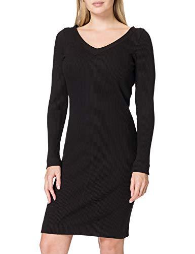 BOSS C_Erry 10234411 01 Vestido, Negro1, M para Mujer