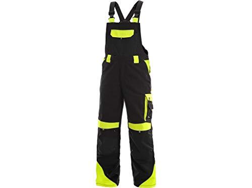 CXS Sirius Brighton - Herren Arbeitslatzhose mit Kniepolstertaschen und reflektierende Streifen - Hochwertige, komfortable und atmungsaktive...
