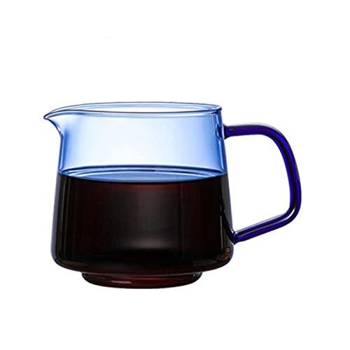Cafetera de vidrio Tetera resistente al calor Hecho a mano Hecho a mano Leche de leche Juguez al contenedor de té perfumado Accesorios de cocina Decoración de escritorio para el hogar