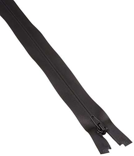 Coats: Thread & Zippers Water-Resistant Separating Zipper, 28-Inch, Black