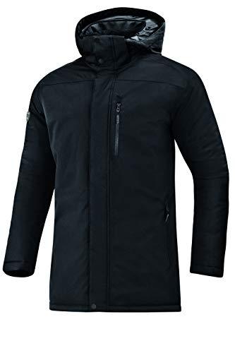 JAKO Herren Winterparka Sonstige Jacke, schwarz, XL