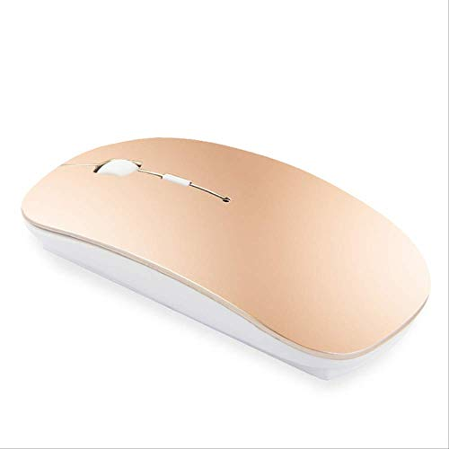 For Apple Macbook air For Xiaomi Macbook Pro Rechargeable Bluetooth Mouse For Huawei Matebook Laptop Notebook Computer Gold