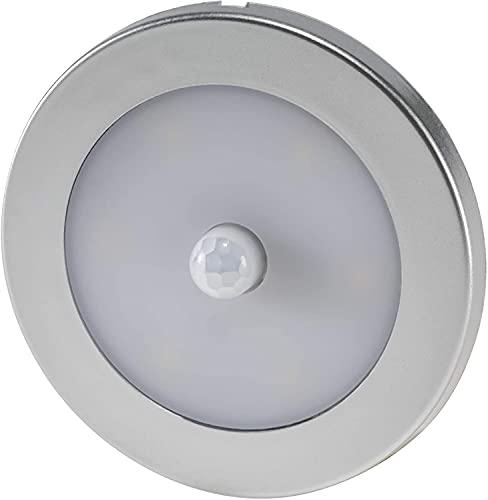 Foco LED Superslim con detector de movimiento, 12 V, luz blanca fría (6000-6500 K)