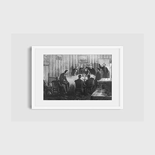 Foto: Muerte, Presidente Abraham Lincoln, 1809-1865, Faber