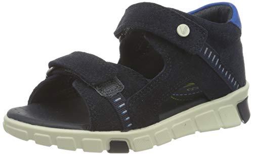 ECCO Baby-Jungen Mini Stride Flat Sandal, Blau(Night Sky), 20 EU