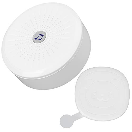 Volumen ajustable, señal de radio fuerte y estable, protección IP55, resistente al agua, timbre de puerta inalámbrico, receptor de timbre de puerta para el patio