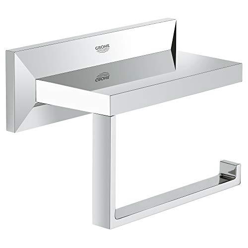 Grohe Allure Brilliant | Badaccessoires - WC-Papierhalter, ohne Deckel | chrom | 40499000
