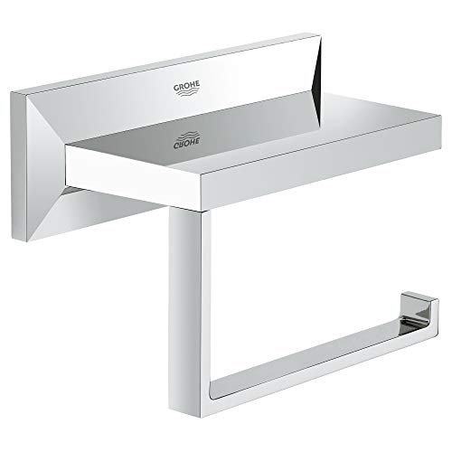Grohe Allure Brilliant | Badaccessoires - WC-Papierhalter, ohne Deckel | chrom | 40499000