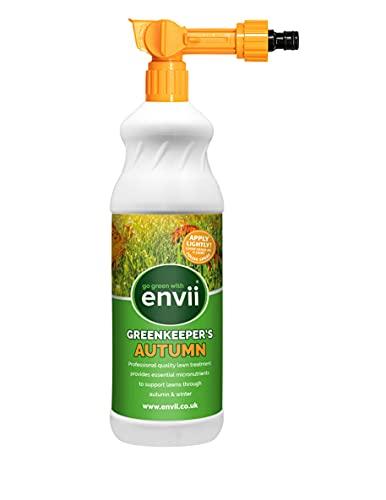 Envii Active Lawn - Regenerador de Césped Orgánico Ayuda a Descomponer el Barro y Reduce el Musgo – Tratamiento para 40m2