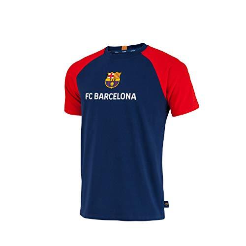 Fc Barcelone Camiseta de algodón Lionel Messi Barca - Colección Oficial Talla...