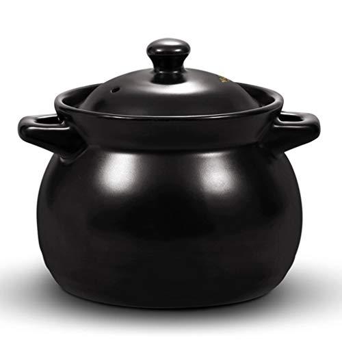 zyy kleine Casserole, soeppot, melkpot, hoge temperatuur keramische soep, pap, stoofpot, enz. (1L)