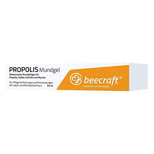Preisvergleich Produktbild BEECRAFT Propolis Mundgel 20 ml Gel