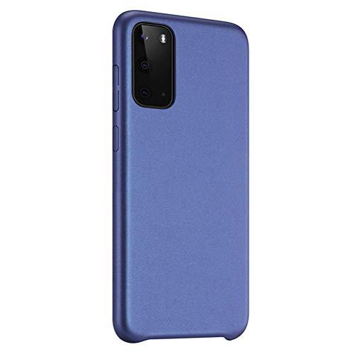 Funda ultrafina para Samsung Galaxy S20, transparente, flexible, antiamarilla, de silicona TPU, antideslizante, ajuste fino, suave, resistente a los golpes azul Talla única