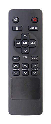 RTS7010B Replaced Remote Control Compatible with RCA Home Theater Sound Bar RTS7010B RTS7110B RTS7630B RTS7010B-E1 RTS7010BE1