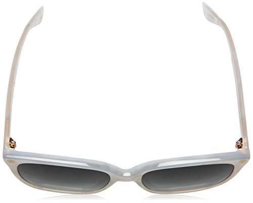Fashion Shopping Gucci GG0022S-004 Cat Eye Sunglasses White/Green Lens