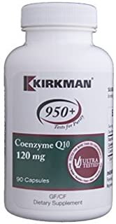 Kirkman Labs - Coenzyme Q10 120mg 90 caps