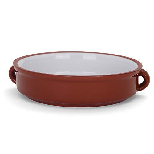 Belari 6' Terracotta Cazuelas - Rustic Cazuela Clay Pan - Terra Cotta Cazuela Dish - Mexican Cazuela Dishware/Cookware - Vintage Cooking Pot (6' - 4 Pack)