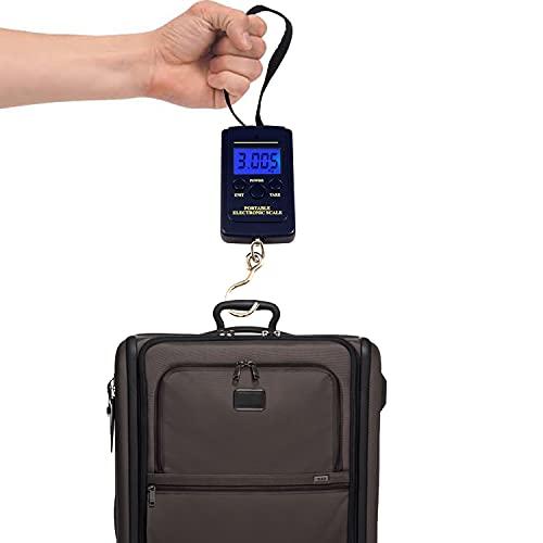 40kg Portátil Báscula Digital de equipaje balanza Colgante Lastre para maleta viaje con pantalla lcd